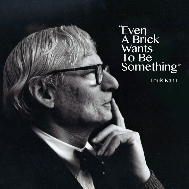 Louis kahn things pinterest zitate architekten und for Architecture quotes wallpaper
