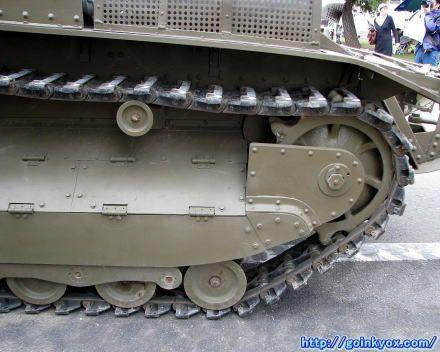 八九式中戦車レストア後( Type89 Midlle Tank After restore )