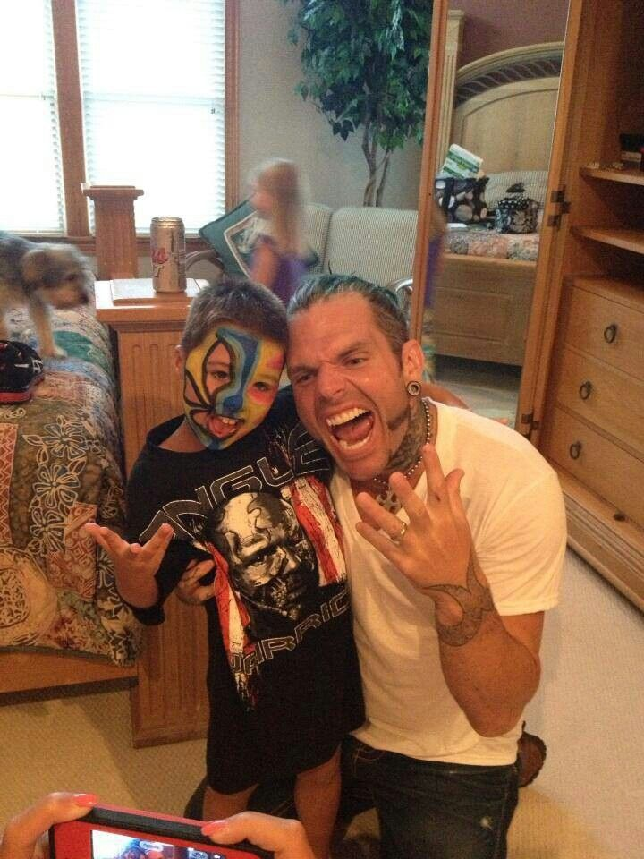 Jeff hardy   Jeff Hardy And His Daughter