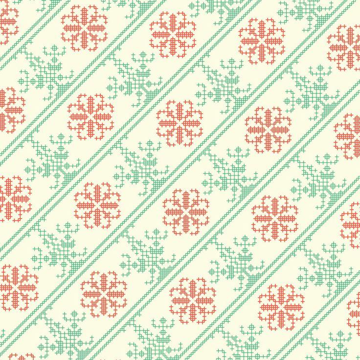 #Slovakfolkpattern #wrappingpaper #prettypaper