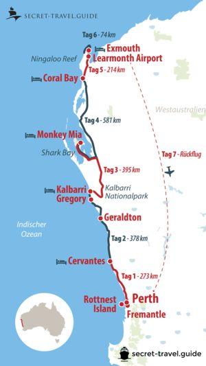 Eine Woche Westküste Australien – von Perth nach Exmouth