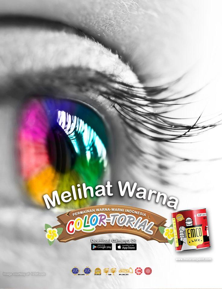 Saatnya memanjakan mata Anda dengan kombinasi warna-warni yang indah dari game COLOR-TORIAL. Download game COLOR-TORIAL di App Store https://itunes.apple.com/id/app/colortorial/id1135159964?mt=8 maupun Google Play Store https://play.google.com/store/apps/details?id=com.matarampaint.emco.colortorial