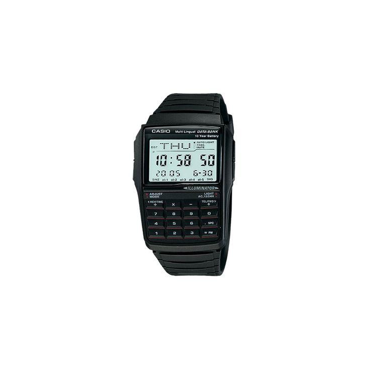 Men's Casio Databank Watch - Black (DBC32-1A)
