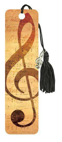 Beaded Bookmarks - Clef Music Treasures…