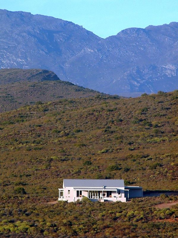 Faraway is built on the most solitary spot of the farm – just fynbos, mountains, endless skies, and silence. It combines the traditional features of a Cape Langhuis with an eco-friendly (run on...