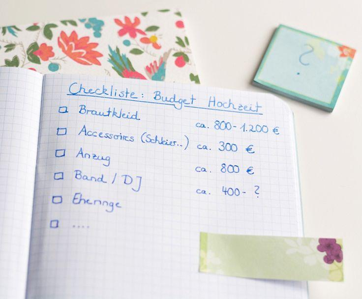 Wie viel kostet eine Hochzeit? Budgetplaner und viele Tipps rund ums Geld   Hochzeitsblog - The Little Wedding Corner