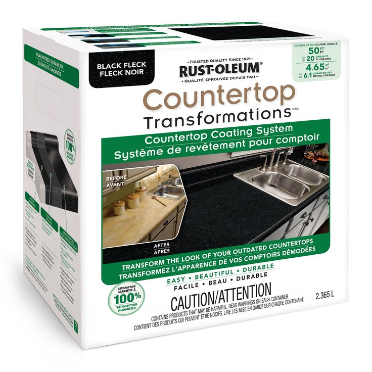 Perfect countertop is the simple affordable way to transform your worn or damaged laminate with - Recouvrir un comptoir de cuisine ...