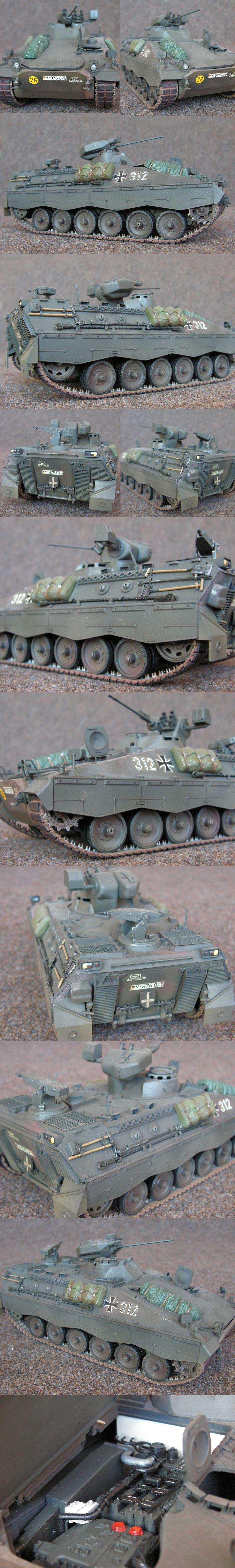 Marder 1A3 Bundeswehr Tamiya