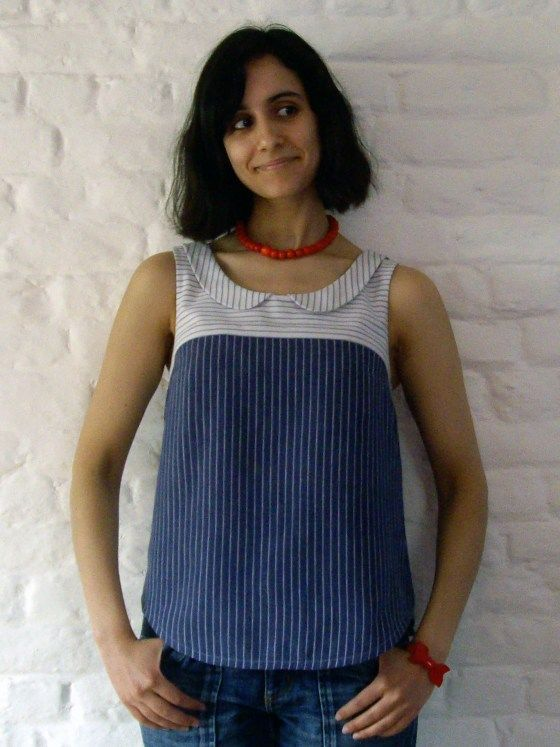 Recycled shirts Datura by Tassadit - So beautiful!