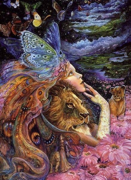 Всех привествую! Очень давно нравятся картины известной художницы Жозефины Уолл, меня вдохновляют её образы, картины и манера исполнения. Решила поделиться этой великолепной, сказочной красотой с вами. Её картины настолько необычны и чудесны, что пробуждают неимоверный вострог, как будто погружаешься в эту сказочную страну загадочных фей, магических животных и фантастическую природу.
