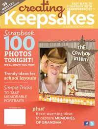 More Free Templates To Scrapbook 100 Photos In An Evening   September 2011   Creating Keepsakes