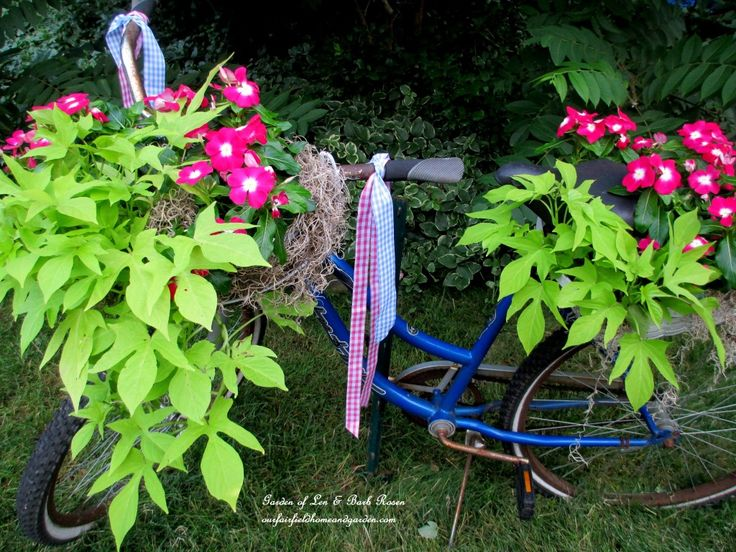 DIY Project ~ My Bicycle Planter