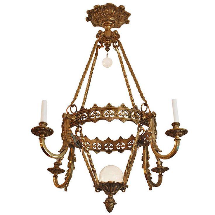 An English Neo Gothic Chandelier Circa 1870 - Ponad 25 Najlepszych Pomysłów Na Pintereście Na Temat Gothic