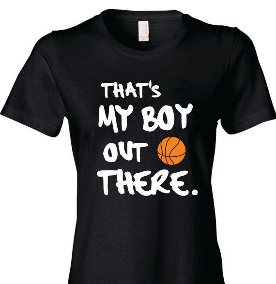 Basketball Mom Shirt Basketball Mom T-Shirt That's by TShirtNerds