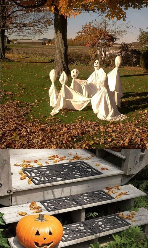 outdoor halloween decorations ideas by rolandverbeek