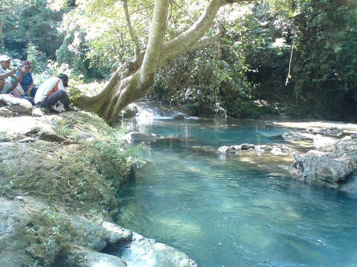 Citumang River, Pangandaran, West Java, Indonesia