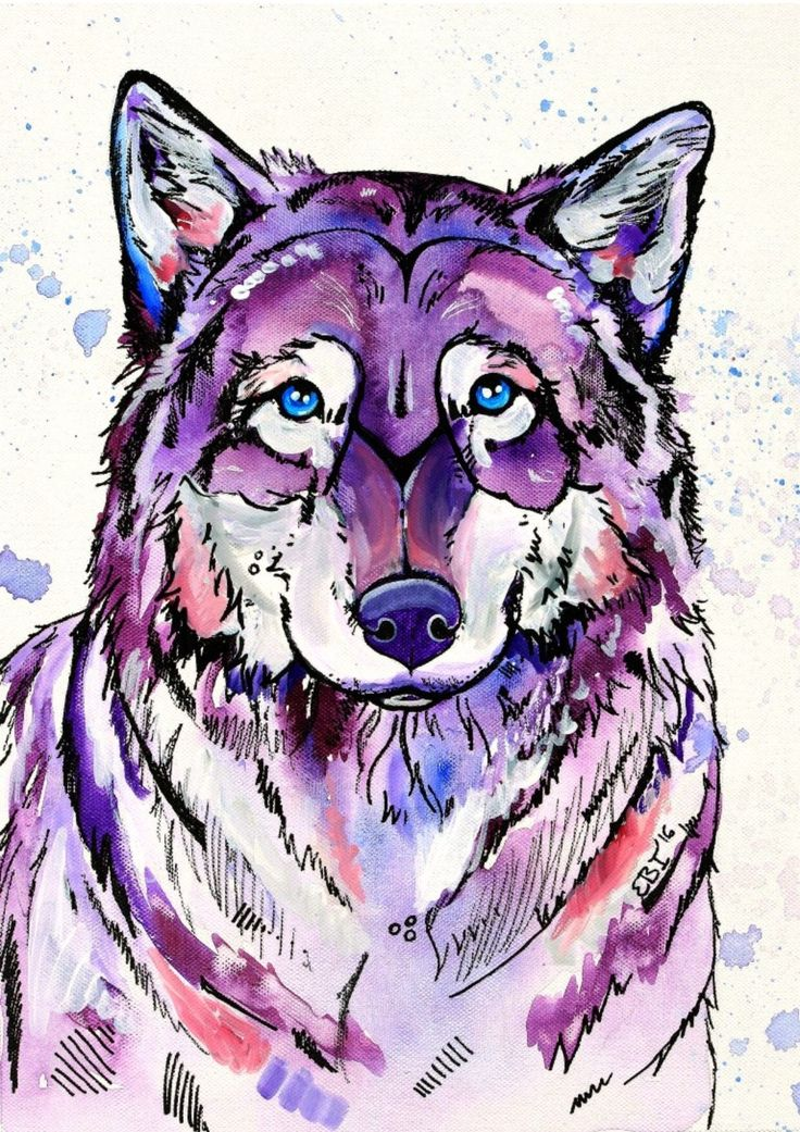 Arctic Wolf Print [Size: A4]