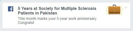 Celebrating 5 years at the Society for Multiple Sclerosis Patients in Pakistan! Happy Labor Day to our readers :)