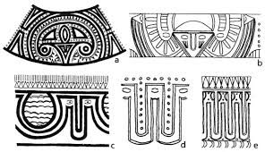 Lapita Patterns The Lapita culture emerged in Oceania around 1500 BC in the north east of Papua New Guinea, Solomon islands, Vanuatu, New Caledonia, Fidji... And is linked to the austronesians people. They are well known for their pottery and its typical patterns.