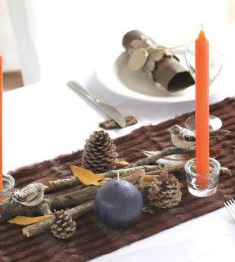 Découvrez les coffrets de décoration de table, conçus et réalisés en atelier. Le Bestiaire: pour une table forestière, facile et rapide à dresser.