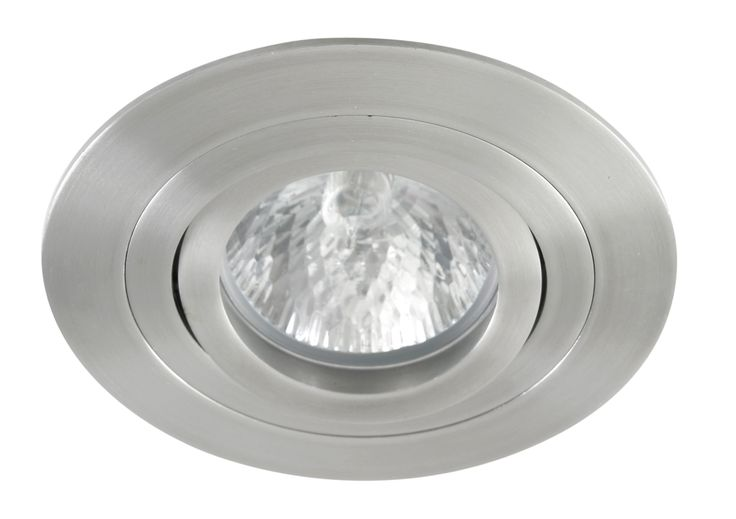 Luxe Round Adjustable 50w Downlight in Stainless Steel