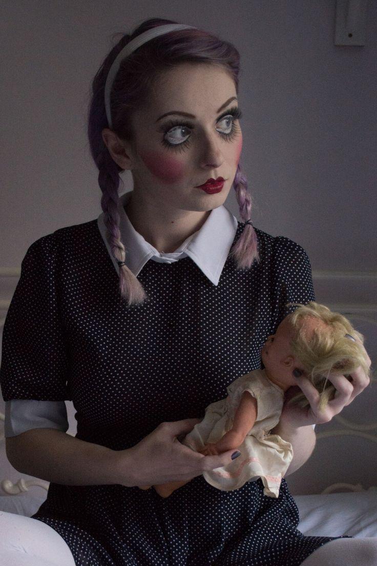 Creepy Doll Halloween Costume   OOTD