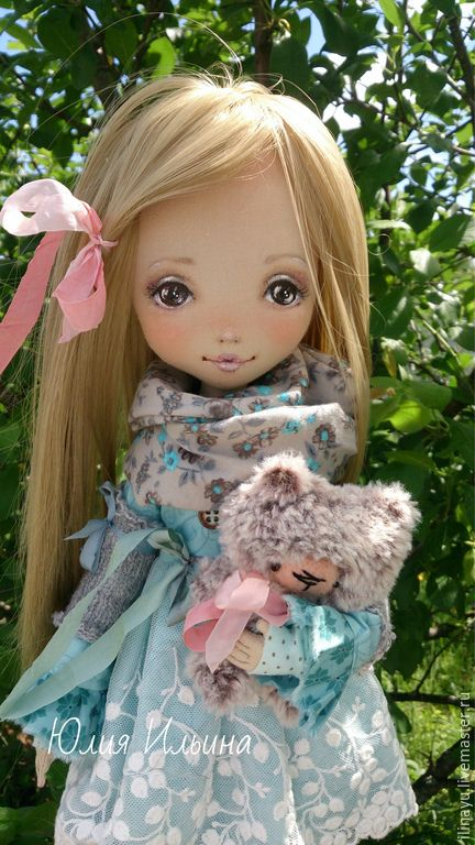 Купить Марьяна - морская волна, коллекционная кукла, коллекционные куклы, авторская кукла