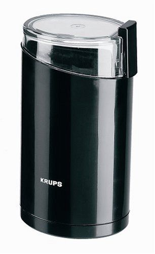Krups 203-42 Electric Coffee and Spice Grinder with Stainless-Steel blades  Black: http://www.amazon.com/Krups-203-42-Electric-Grinder-Stainless-Steel/dp/B00004SPEU/?tag=pinterestproject-20