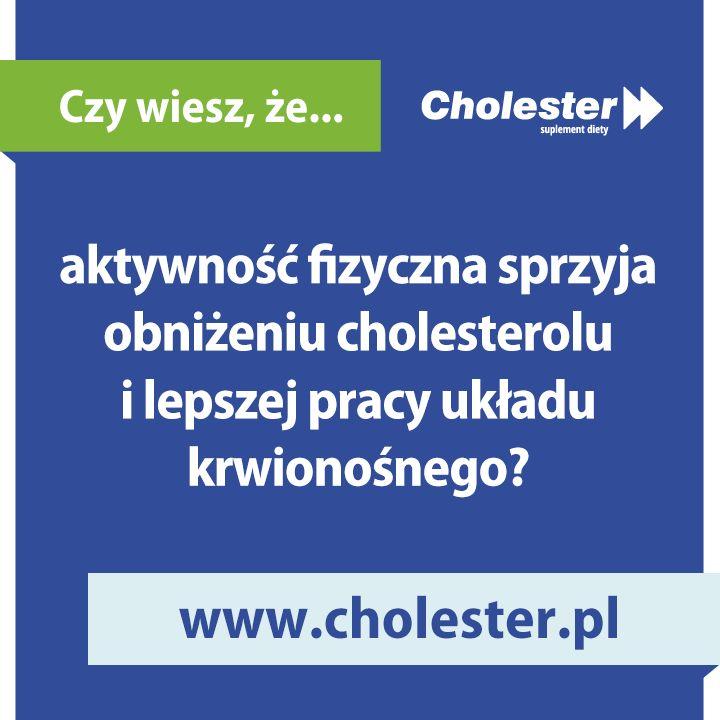 Każda forma aktywności przynosi nam wiele korzyści. Warto zacząć chociażby od regularnych spacerów, aby poczuć różnicę! :)  #cholester #fitness #zdrowie