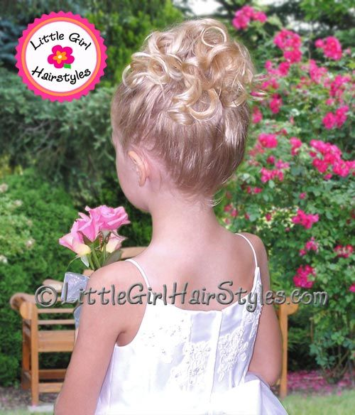 Little girl hairstyles and updo pictures!