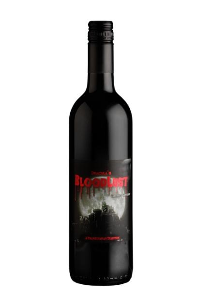 the perfect #Romanian red for #Halloween. Dracula's Bloodlust #Merlot