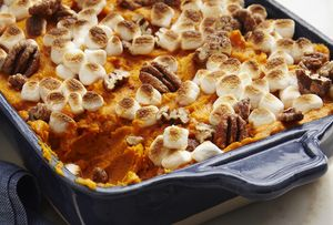 Sweet Potato Casserole With Marshmallows - Iain Bagwell/Digital Vision/Getty Images