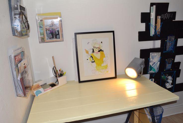 Mit hjemme kontor - som fungere godt!