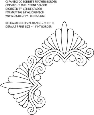 Feather Border: Feathers Border