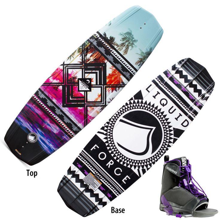 Liquid Force Jett Wakeboard With Transit Bindings - Overton's https://uk.pinterest.com/uksportoutdoors/wakeboarding/pins/