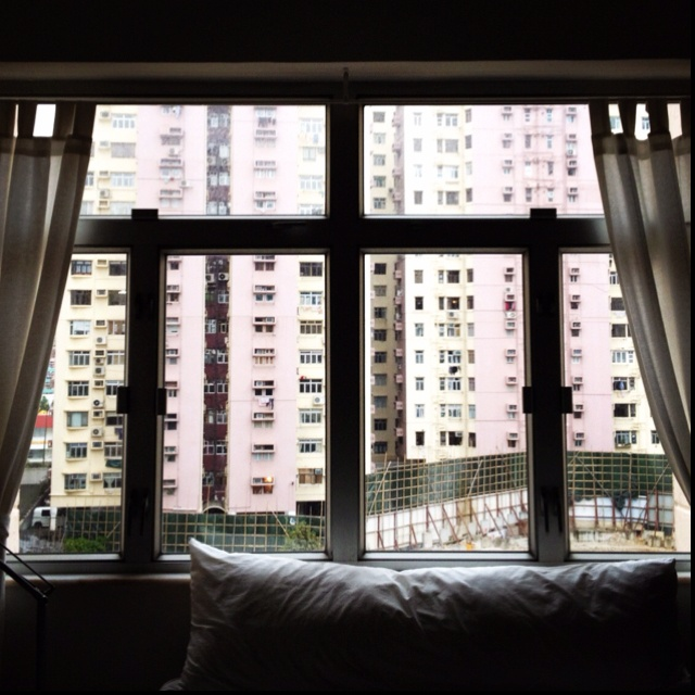Window in North Point, Hong Kong