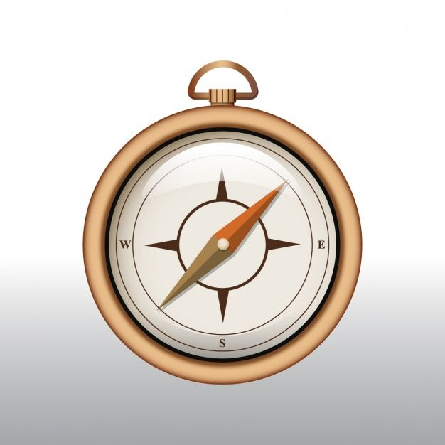 la conception d'arrière-plan Compass Vecteur gratuit