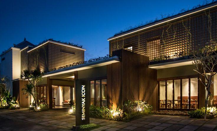 Main entrance of compound villa at Seminyak Bali. Design by Me/_Dodi Nug