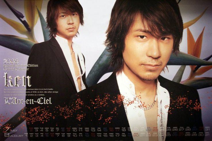 2006 ken Source: L'Arc~en~Ciel official calendar 2006