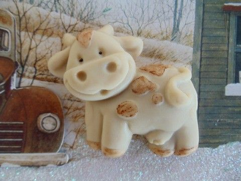 30 Cow Party Favors Soap by BubbleCitySoap on Etsy, $36.00