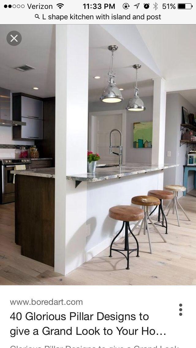 8 Inspiring Open Concept Kitchen You Ll Love Small Kitchen Ideas Concept Id Kitchen Bar Design Small Kitchen Layouts Small Kitchen Design Layout