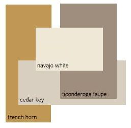 Color Inspiration  what color compliments gray paint | Benjamin Moore French Horn