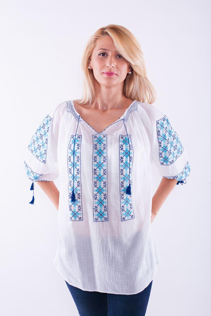 ie romaneasca Mioara 3. Romanian traditional blouse