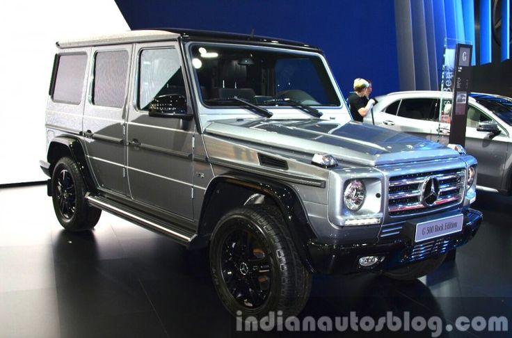#Mercedes #G500 Rock Edition – Motorshow Focus