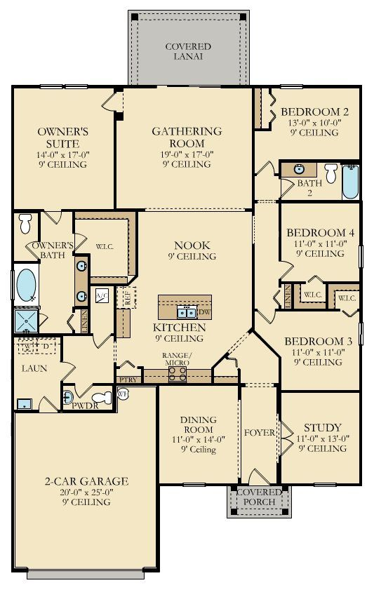 25 best Lennar Floorplans Two Story Floorplans images on