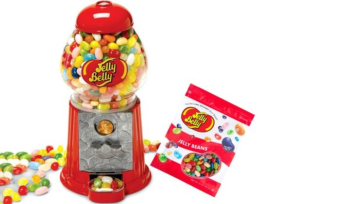 Jelly Belly Mini Bean Machine with 3.25 oz. Bag of Jelly Beans: Jelly Belly Mini Bean Machine with 3.25 oz. Bag of Jelly Beans