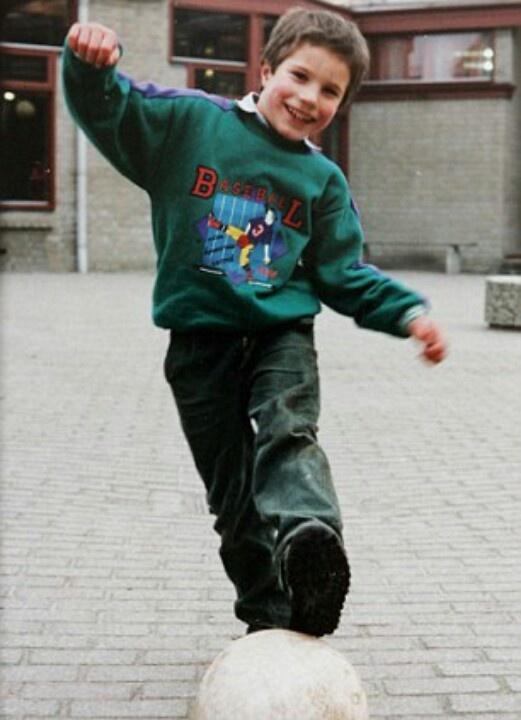 ROBIN VAN PERSIE   #Little #Version #Cutie