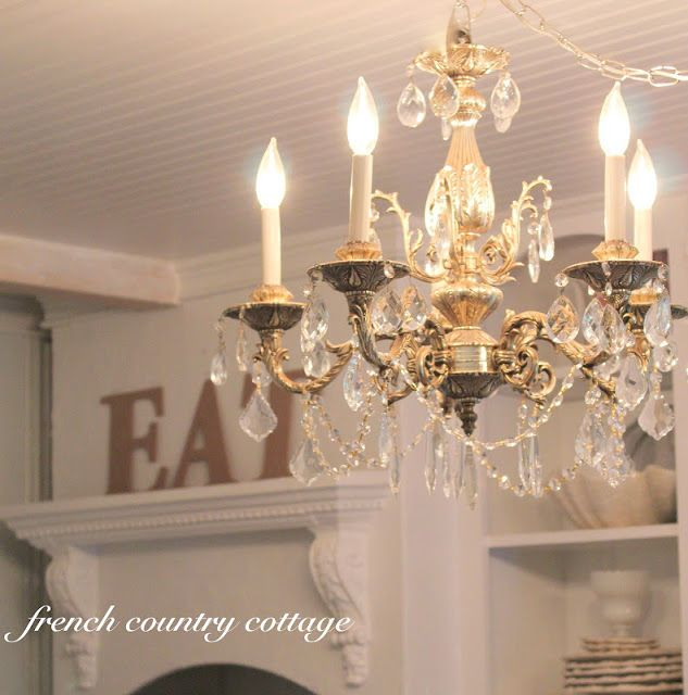 17 best ideas about french cottage kitchens on pinterest for French country kitchen chandelier