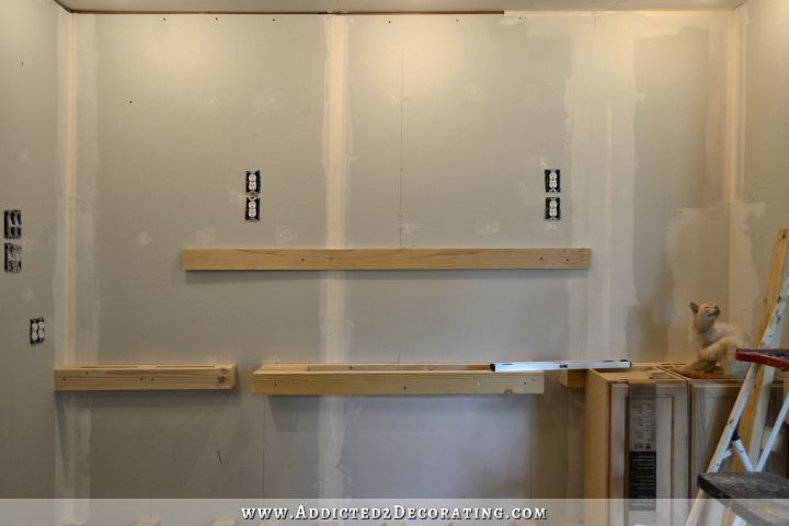 Wall Of Cabinets Installed Plus How To Install Upper Cabinets By Yourself Addicted 2 Decorating Installing Cabinets Upper Kitchen Cabinets Upper Cabinets