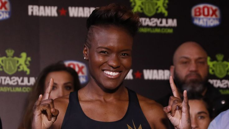 Nicola Adams has belief in trainer Virgil Hunter    GB's double gold medallist Nicola Adams believes new trainer Virgil Hunter will play a key part in her success as a professional.   http://www.bbc.co.uk/sport/boxing/39537604